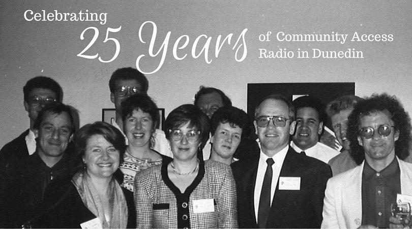Celebrating 25 Years Audio Banner